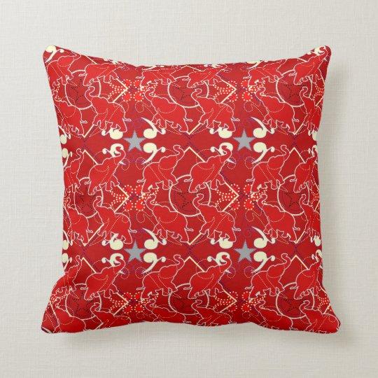 Elephant Bandana Pillow