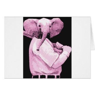 elephant Baseball Card