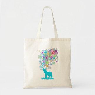 Elephant_Bathing Tote Bag
