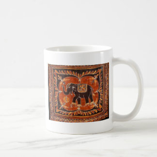 Elephant Batik Coffee Mug