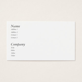 ELEPHANT BUSINESS CARD