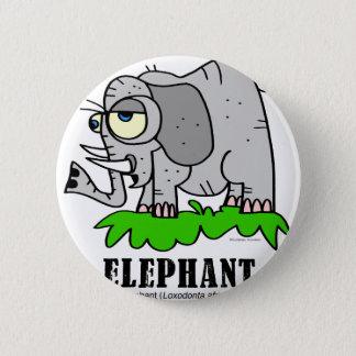 Elephant by Lorenzo © 2018 Lorenzo Traverso 2 Inch Round Button