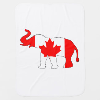 Elephant Canada Swaddle Blanket