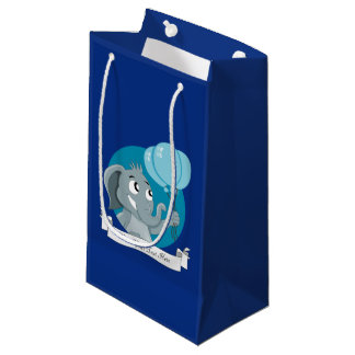 Elephant cartoon small gift bag