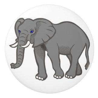 Elephant Ceramic Knobs