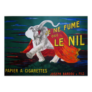 Elephant cigarettes-1900 poster