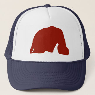 Elephant Circuit Bloc Trucker Trucker Hat