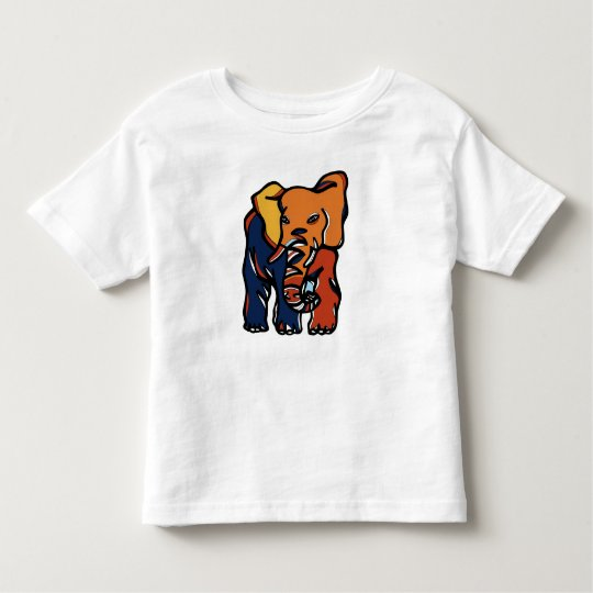 """Elephant Colourful"" Toddler T-Shirt"