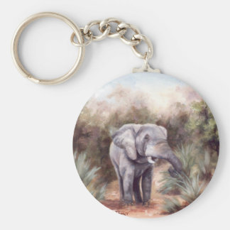 Elephant COMING THROUGH Keychain