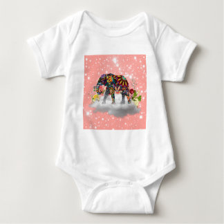 Elephant commands it baby bodysuit