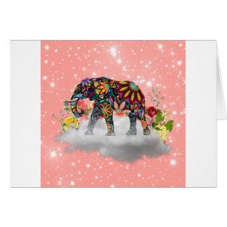 Elephant commands it card