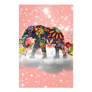 Elephant commands it stationery