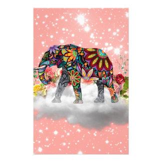 Elephant commands it stationery