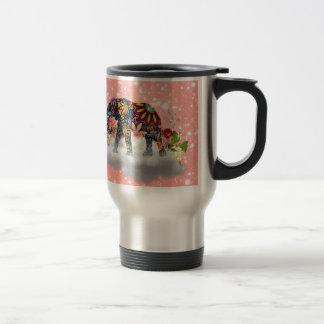 Elephant commands it travel mug