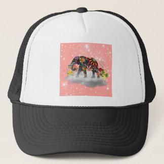 Elephant commands it trucker hat