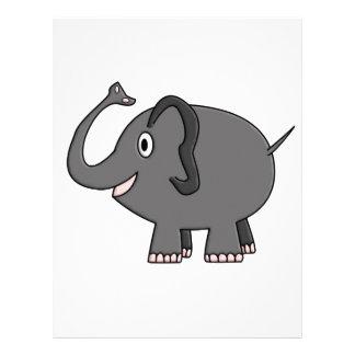 elephant custom letterhead