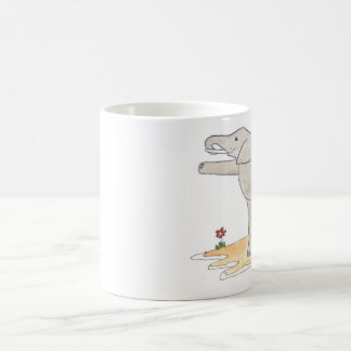 Elephant Dancer's yoga pose Coffee Mug