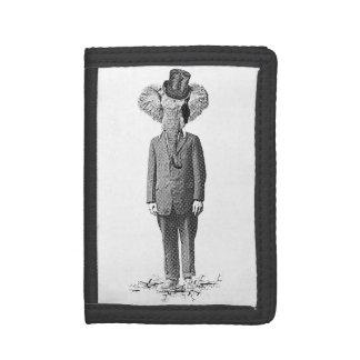 Elephant dandy trifold wallet