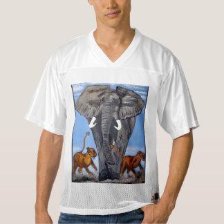 ELEPHANT  DUMBO MEN'S FOOTBALL JERSEY