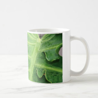 Elephant Ear Leaf Coffee Mug