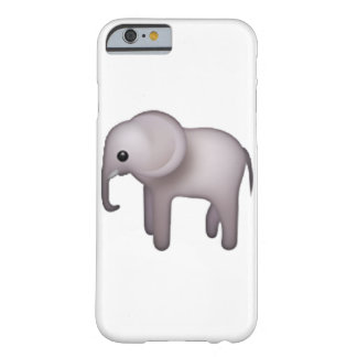 Elephant - Emoji Barely There iPhone 6 Case