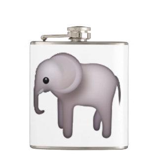 Elephant - Emoji Hip Flask
