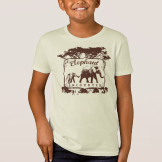 Elephant Encounter T-Shirt