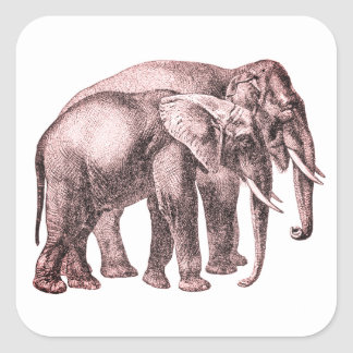 Elephant Friends Forever Stickers