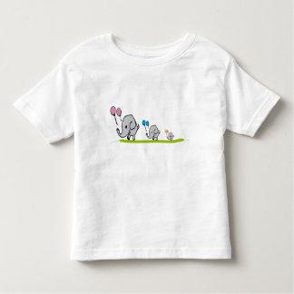 Elephant gang toddler t-shirt