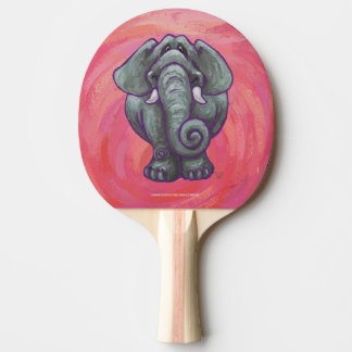 Elephant Gifts & Accessories Ping-Pong Paddle