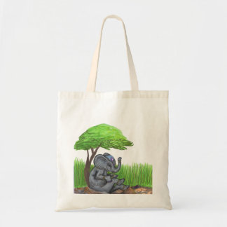 Elephant Girl Jewelry Bonsai Fairy Dream Tote Bag