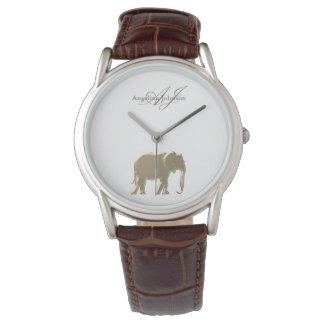 Elephant Golden Elegant Monogram Classy Vintage Watch