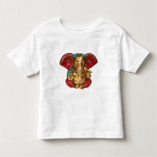 Elephant Head Brass Statue Indian Hindu Temple Art Toddler T-shirt