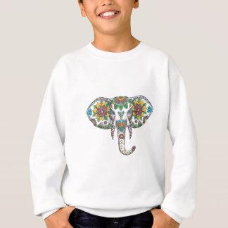 Elephant Head Mandala Tattoo Sweatshirt