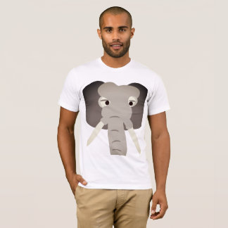 Elephant head tshirt