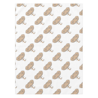 Elephant Head Tusk Mandalaa Tablecloth