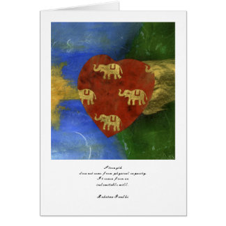 Elephant Heart Card