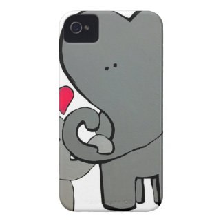 Elephant Hearts - An unforgettable love. Case-Mate iPhone 4 Cases