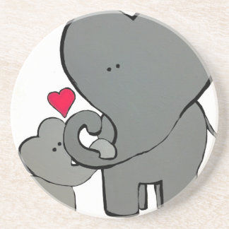 Elephant Hearts - An unforgettable love. Coaster