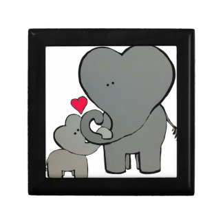 Elephant Hearts - An unforgettable love. Gift Box