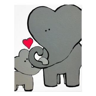 Elephant Hearts - An unforgettable love. Letterhead