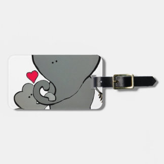 Elephant Hearts - An unforgettable love. Luggage Tag