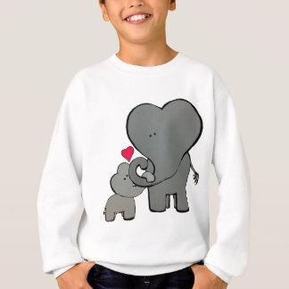 Elephant Hearts - An unforgettable love. Sweatshirt