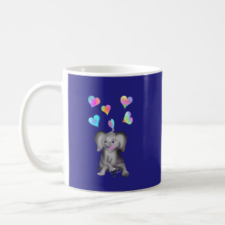 Elephant Hearts by The Happy Juul Company Coffee Mug