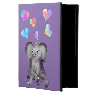Elephant Hearts by The Happy Juul Company iPad Air Cover