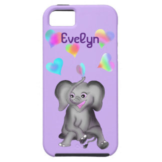 Elephant Hearts by The Happy Juul Company iPhone 5 Covers