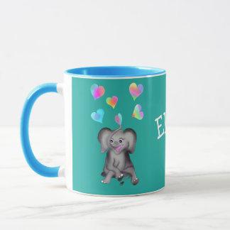 Elephant Hearts by The Happy Juul Company Mug