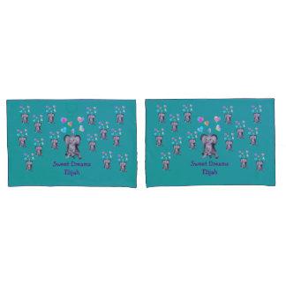 Elephant Hearts by The Happy Juul Company Pillowcase
