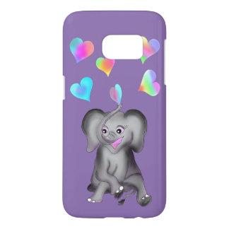 Elephant Hearts by The Happy Juul Company Samsung Galaxy S7 Case