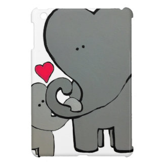 Elephant Hearts iPad Mini Case